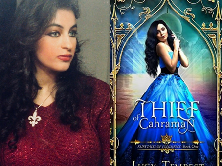 Interview with Author Lucy Tempest on her Newest Book, Thief of Charranm