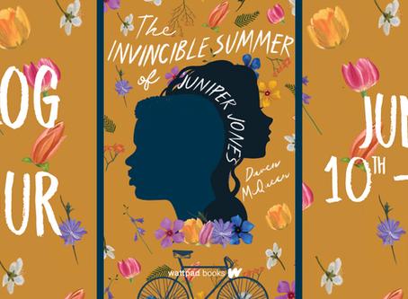 Blog Tour: The Invincible Summer of Juniper Jones by Daven McQueen, Exclusive Interview with Author!
