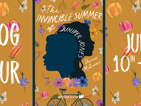 Blog Tour: The Invincible Summer of Juniper Jones by Daven McQueen, Exclusive Interview with Author!