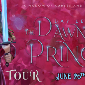 Blog Tour: The Dawn and the Prince by Day Leitao  Review + Favourite Quotes