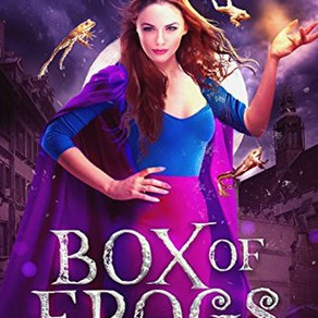 """ARC Review: Box of Frogs by Helen Harper - """"Don't go in expecting this to be your next all-"""