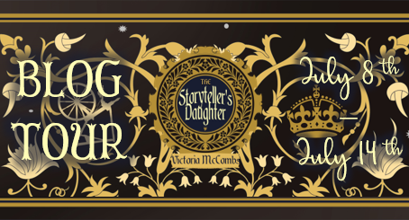 Blog Tour: The Storyteller's Daughter  by Victoria McCombs ARC Review!