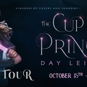 Blog Tour: The Cup and the Prince by Day Leitao Book Spotlight + Mood Board