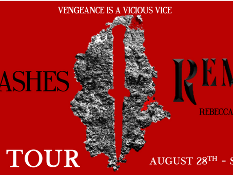Blog Tour: Only Ashes Remain by Rebecca Schaeffer Promotional Post + Exclusive Giveaway