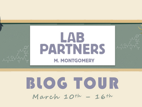 Blog Tour: Lab Partners by Mora Montgomery Promotional Post