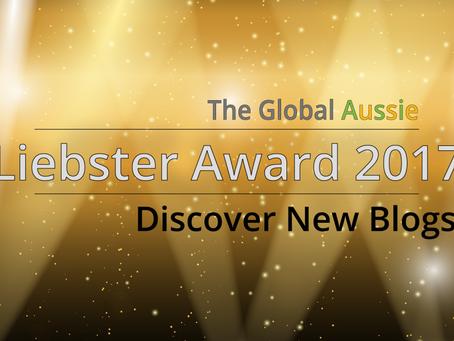 Liebster Blog Award for 2017, I Am Nominated!