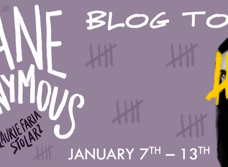 Blog Tour: Jane Anonymous by Laurie Faria Stolarz Book Spotlight + Exclusive Guest Post