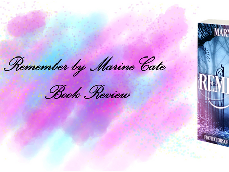 Book Review For Remember By Marine Cate