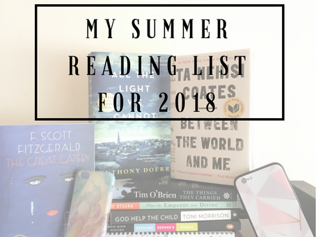 My Summer Reading List for 2018, Six of Crows, Rick Riordan Books, and more