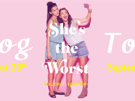 Blog Tour: She's the Worst by Lauren Spieller Promotional Post
