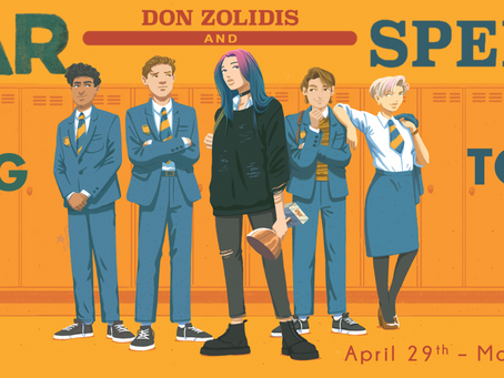 Blog Tour: War and Speech by Don Zolidis Promotional Post