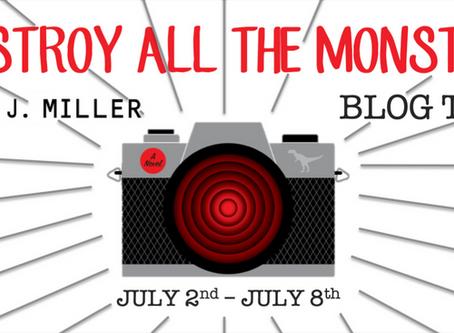Blog Tour: Destroy All Monsters by Sam J. Miller Book Spotlight