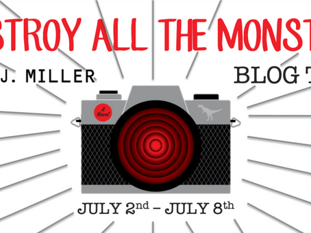 Blog Tour: Destroy All Monsters by Sam J. Miller Book Spotlight