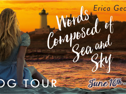 Blog Tour: Words Composed of Sea and Sky by Erica George Mood Board