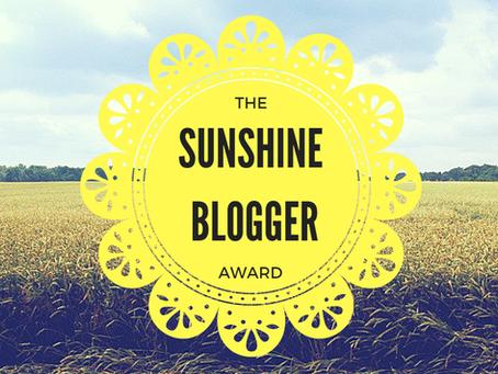 The Sun Shine Blogger Award