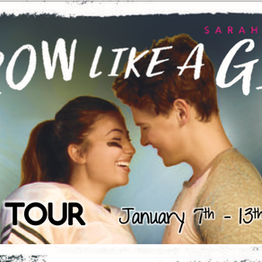 Blog Tour: Throw Like a Girl by Sarah Henning Promotional Post