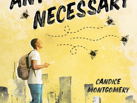 Blog Tour: By Any Means Necessary by Candice Montgomery Promotional Post
