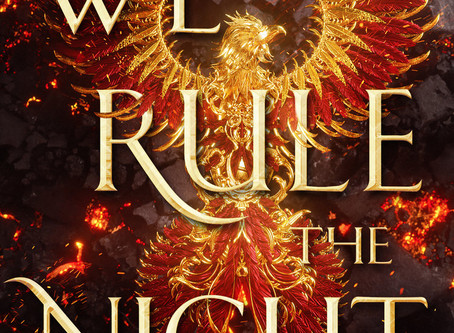 Blog Tour: We Rule the Night by Claire Eliza Bartlett - Review + Playlist + Dream Cast