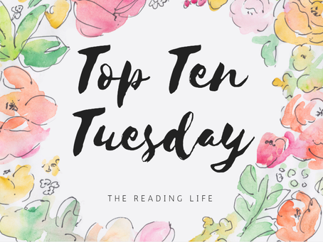 Top Ten Tuesday #1: Best Books You've Read In 2017 So Far