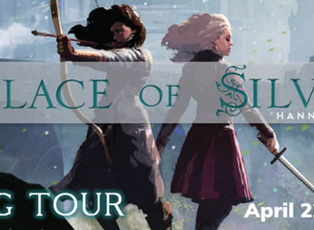 Blog Tour: Palace of Silver by Hannah West Exclusive Deleted Scenes!