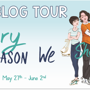 Blog Tour: Every Reason We Shouldn't by Sara Fujimura Promotional Post
