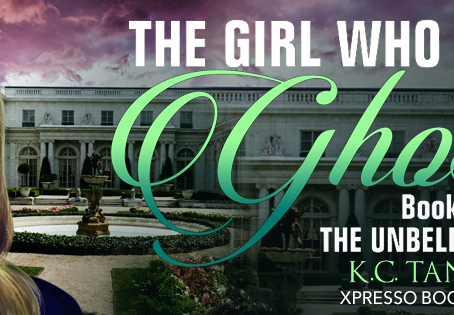Cover Reveal: The Girl Who Saved Ghosts by K.C, Xpresso Book Tours