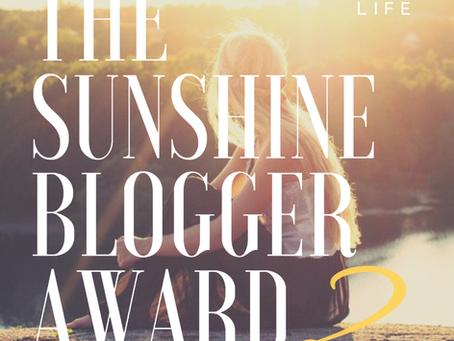 The Sunshine Blogger Award 2