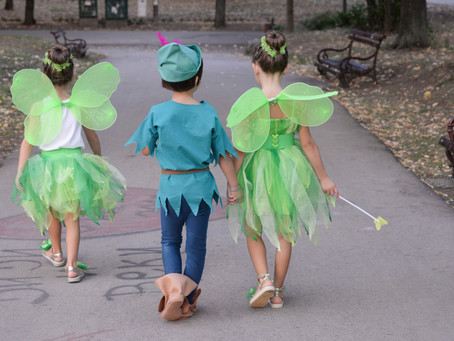 Peter Pan's Neverland and how to Get There with Children.