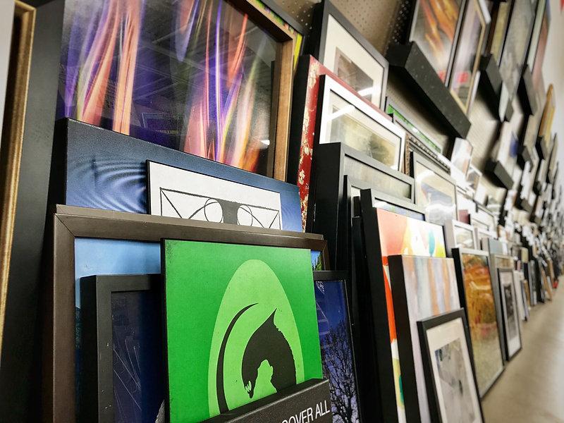 Framed Art Wall @ AV