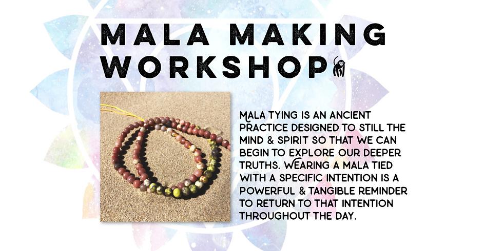 Mala Making Workshop: Yoga Village