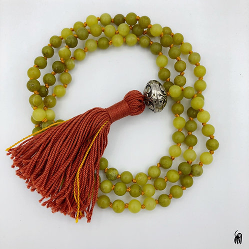 olive jade mala