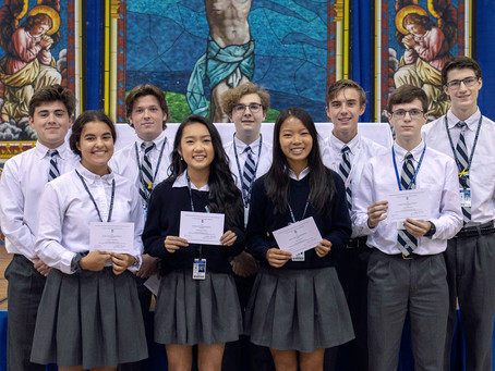 Ten NCHS students earn National Merit Commended status!