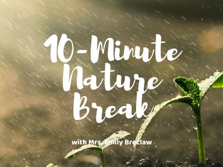 Monday, March 30 - Nature Break