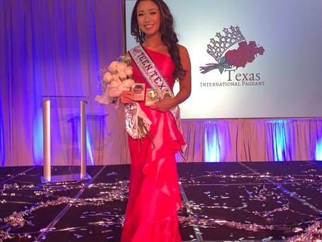 Katie Hoang '22 Crowned Miss Teen Texas International