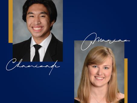 2021 Chaminade and Marian Award Recipients