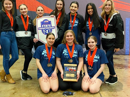Royelles Dance Team Place 2nd at State