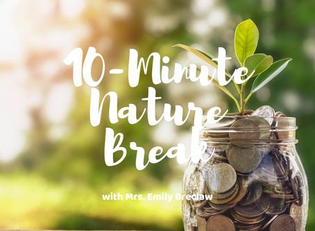 Wednesday, April 1 - Nature Break