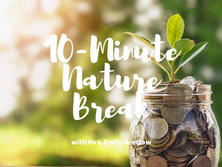 Wednesday, April 1 - Nature Break