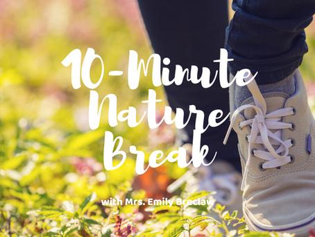 Wednesday, May 6 - Nature Break