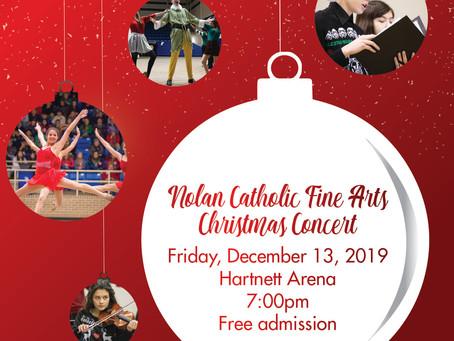 NCHS Fine Arts Christmas Concert!