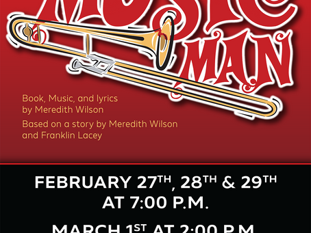 "Purchase tickets for Theatre Nolan's production of ""The Music Man"""