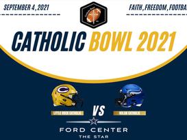 Nolan Catholic vs Little Rock Catholic - Inaugural Catholic Bowl