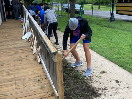 Viking Football in the Community