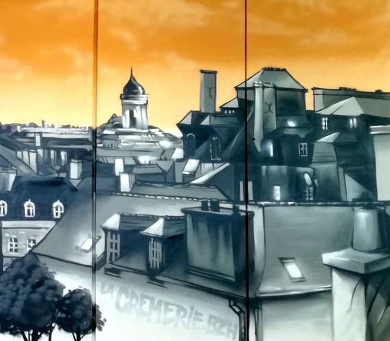 Fresque Campanile St-Jacques