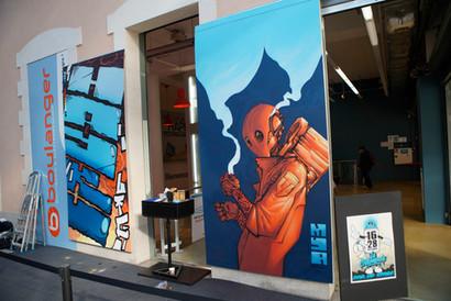 Centre Commercial - La Visitation