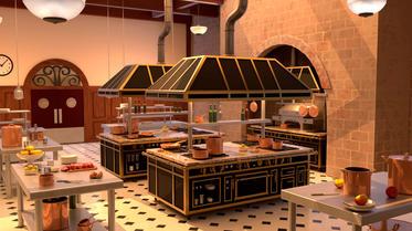 Ratatouille's kitchen