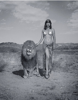 """Hear Me Roar"" - B&W 8x10 Signed Print - UNCENSORED"