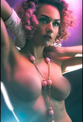 """""""In the Pink"""" - Color 8x10 Signed Print - UNCENSORED"""