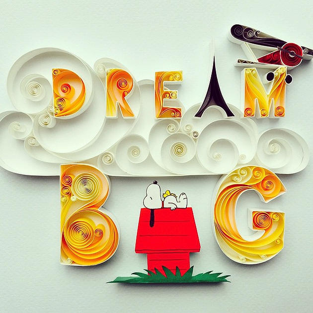 Sena Runa Snoopy Dream Big