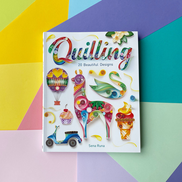 Quilling: 20 Beautiful Designs